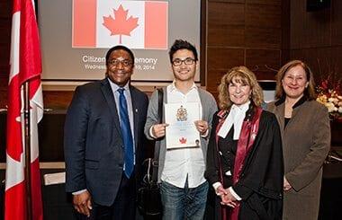 MaRS celebrates new Canadians